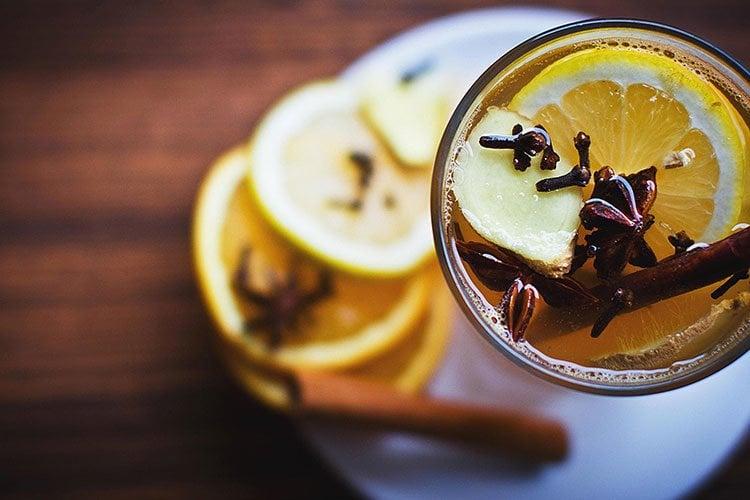 Recetas de té de canela