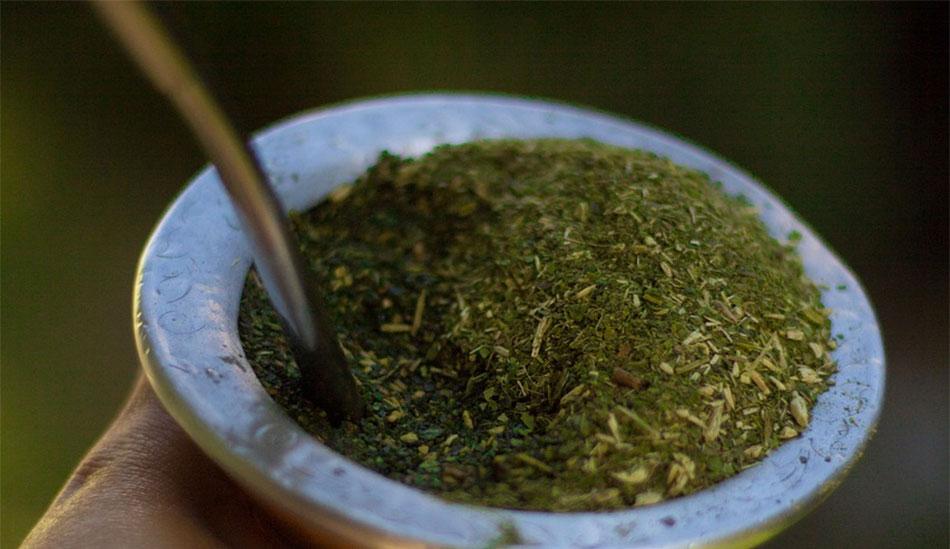 Mate y té verde