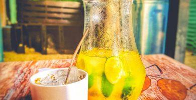 Tereré con limón