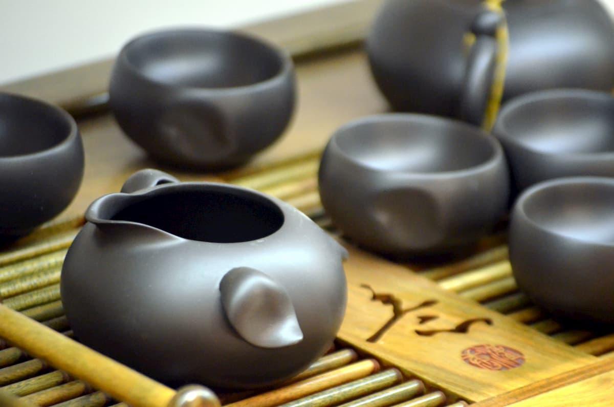 Accesorios para la ceremonia del Té japonés