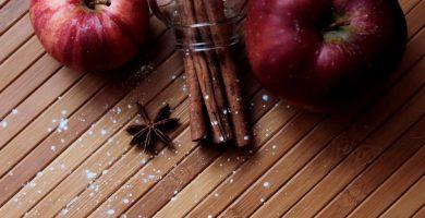 manzana canela y anis